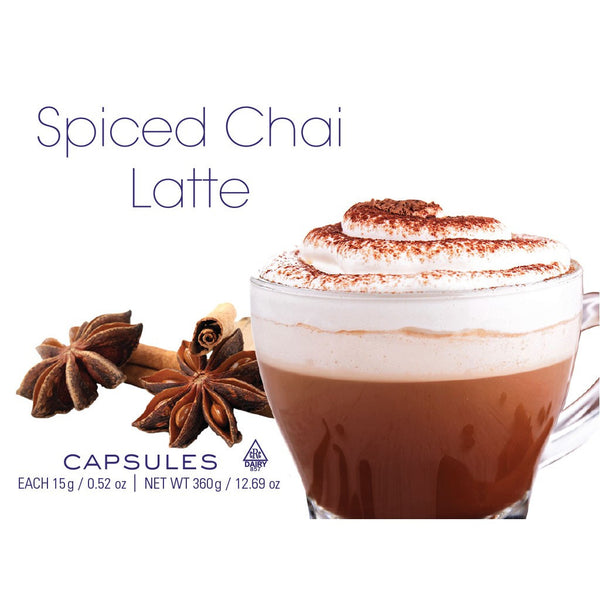 Spiced Chai Latte Capsules 24 ct