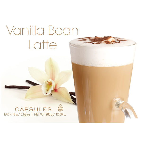 Barrie House Vanilla Bean Latte Capsules 24 ct