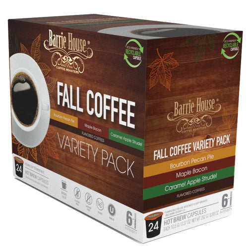 Fall Variety Pack<br>Single Serve Capsules<br>24 ct