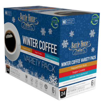 Winter Variety Pack  <br>Single Serve Capsules <br>24 ct