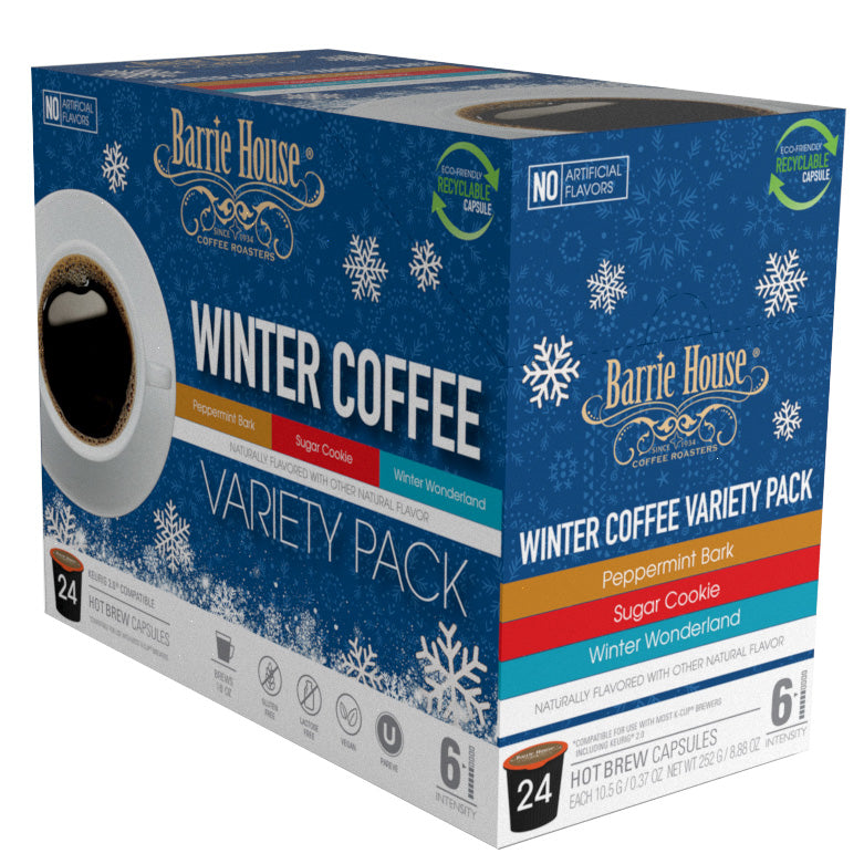 Winter Variety Pack<br>Single Serve Capsules<br>24 ct