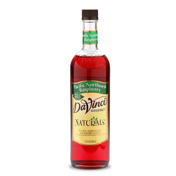DaVinci Gourmet Natural Pacific NW Raspberry Syrup 6/700ml