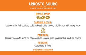 Arrosto Scuro<br>French Press Grind<br>24 x 1.85 oz Frac Pack