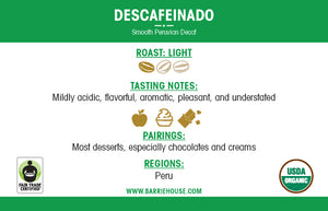 Descafeinado<br>French Press Grind<br>24 x 1.85 oz Frac Pack