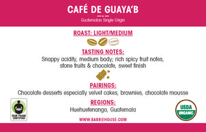 Café de Guaya'b<br>French Press Grind<br>40 x 1 oz Frac Pack
