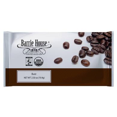 Barrie House Fair Trade Organic Buzz Energized Coffee 24/2.50 oz
