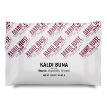 Load image into Gallery viewer, Kaldi Buna<br>French Press Grind<br>24 x 1.85 oz Frac Pack