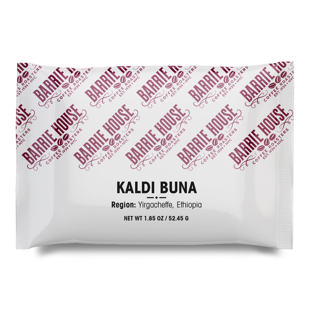 Kaldi Buna<br>French Press Grind<br>24 x 1.85 oz Frac Pack