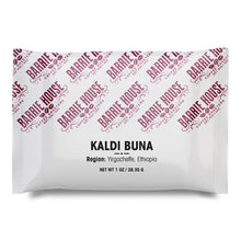 Load image into Gallery viewer, Kaldi Buna<br>French Press Grind<br>40 x 1 oz Frac Pack
