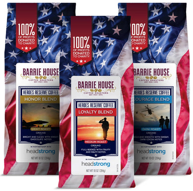 Heroes Reserve<br>Variety Pack<br>Three 10oz Bags