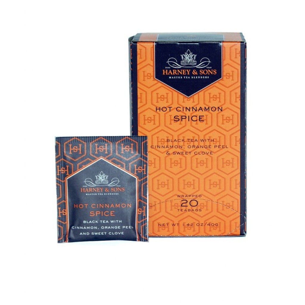 Harney & Sons Hot Cinnamon Spice 20 ct Tea Bags