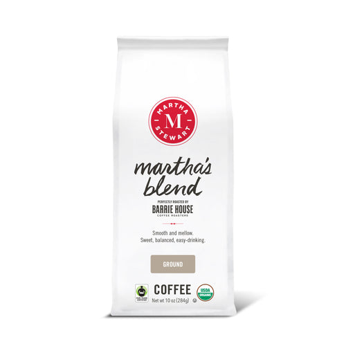 Martha's Blend<br>Fair Trade Organic Coffee<br>10 oz Bag - Ground