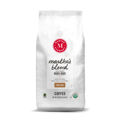Martha's Blend<br>Fair Trade Organic Coffee<br>2 lb Bag - Whole Bean