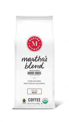Martha's Blend<br>Decaf Ground<br>10 oz Bag