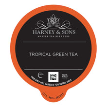 Load image into Gallery viewer, Harney & Sons Tropical Green Single Serve Capsules 24 ct k-cups