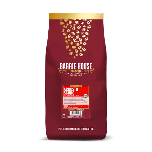 Arrosto Scuro<br>Fair Tade Organic Coffee<br>2 lb Bag - Whole Bean