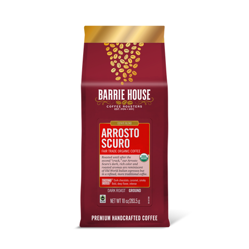 Arrosto Scuro<br>Fair Trade Organic Coffee<br>10 oz Bag - Ground
