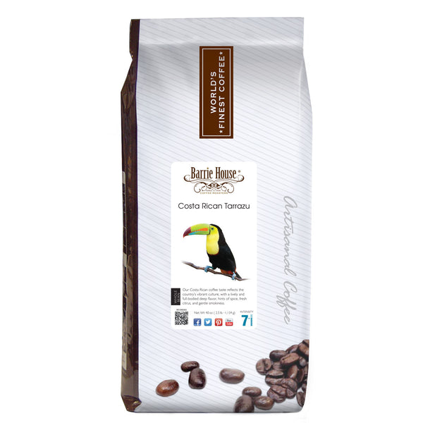 Barrie House Costa Rican Tarrazu 2.5 lb Whole Bean