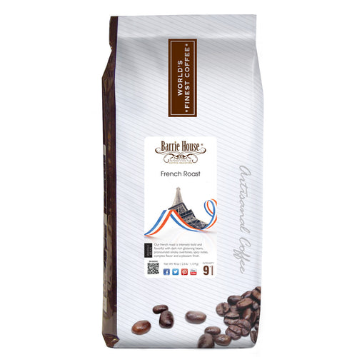 Barrie House French Roast 2.5 lb Whole Bean