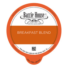 Load image into Gallery viewer, Barrie House Breakfast Blend Value Pack Capsules 80 ct k-cups