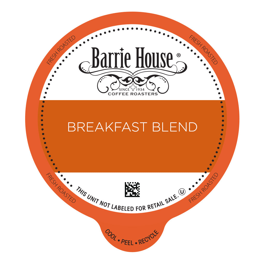 Barrie House Breakfast Blend Value Pack Capsules 80 ct k-cups