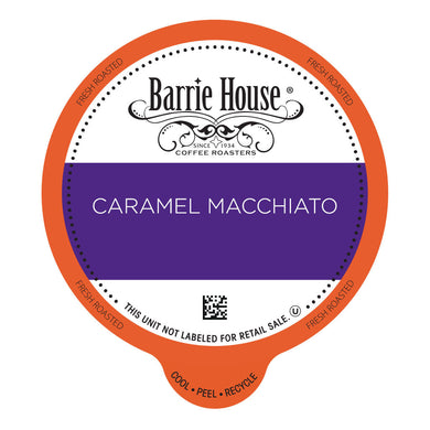 Barrie House Caramel Macchiato Value Pack Capsules 80 ct k-cups