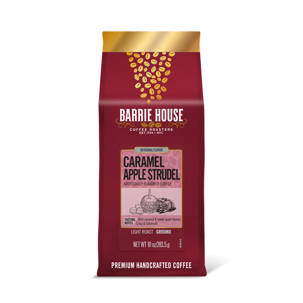 Caramel Apple Strudel<br>Flavored Coffee<br>10 oz Bag - Ground