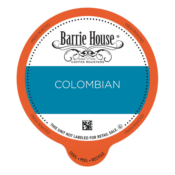Barrie House Colombian Value Pack Capsules 80 ct k-cups