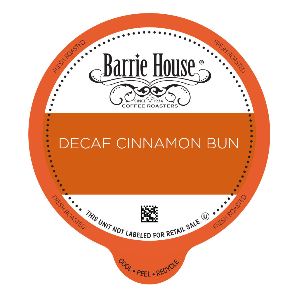 Barrie House Decaf Cinnamon Bun Value Pack Capsules 80 ct