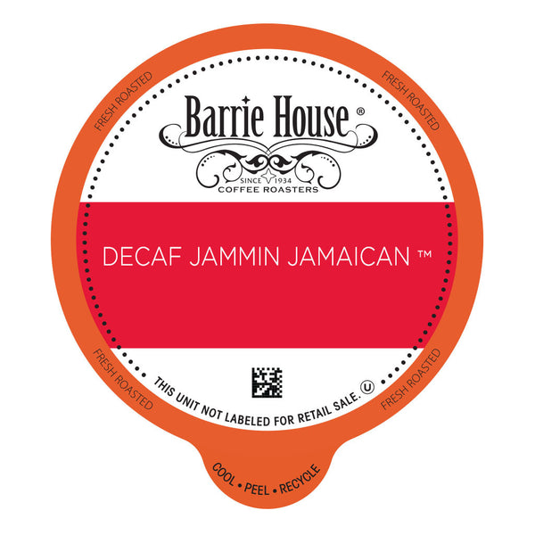 Barrie House Decaf Jammin Jamaican Value Pack Capsules 80 ct k-cups