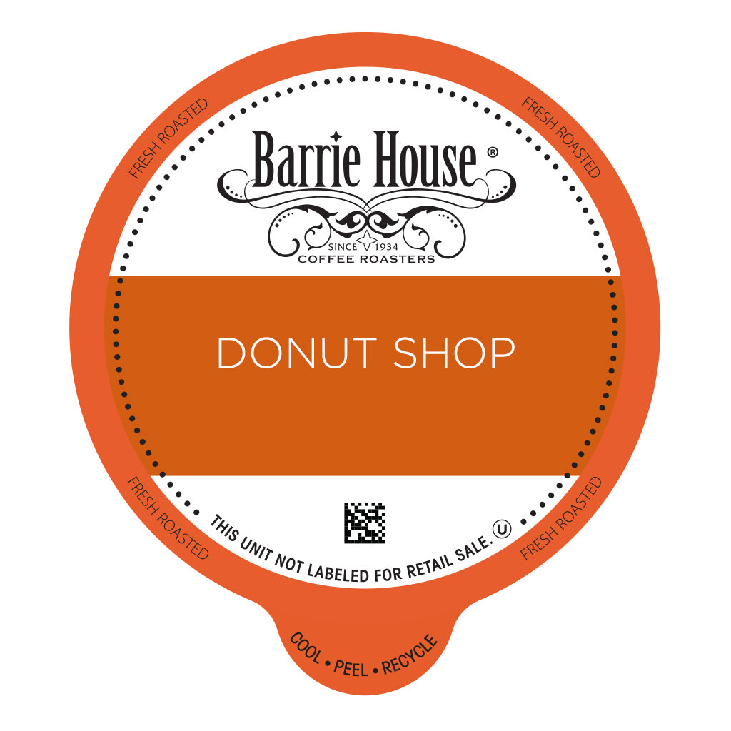 Classic Donut Shop Blend<br>Barrie House Classic<br>80 ct - Single Serve Capsules