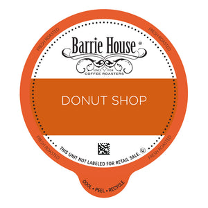 Barrie House Donut Shop Value Pack Capsules 80 ct K-cups