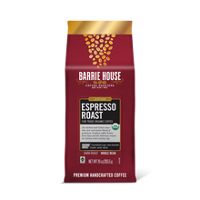 Load image into Gallery viewer, Espresso Roast<br>Fair Trade Organic Coffee<br>10 oz Bag - Whole Bean