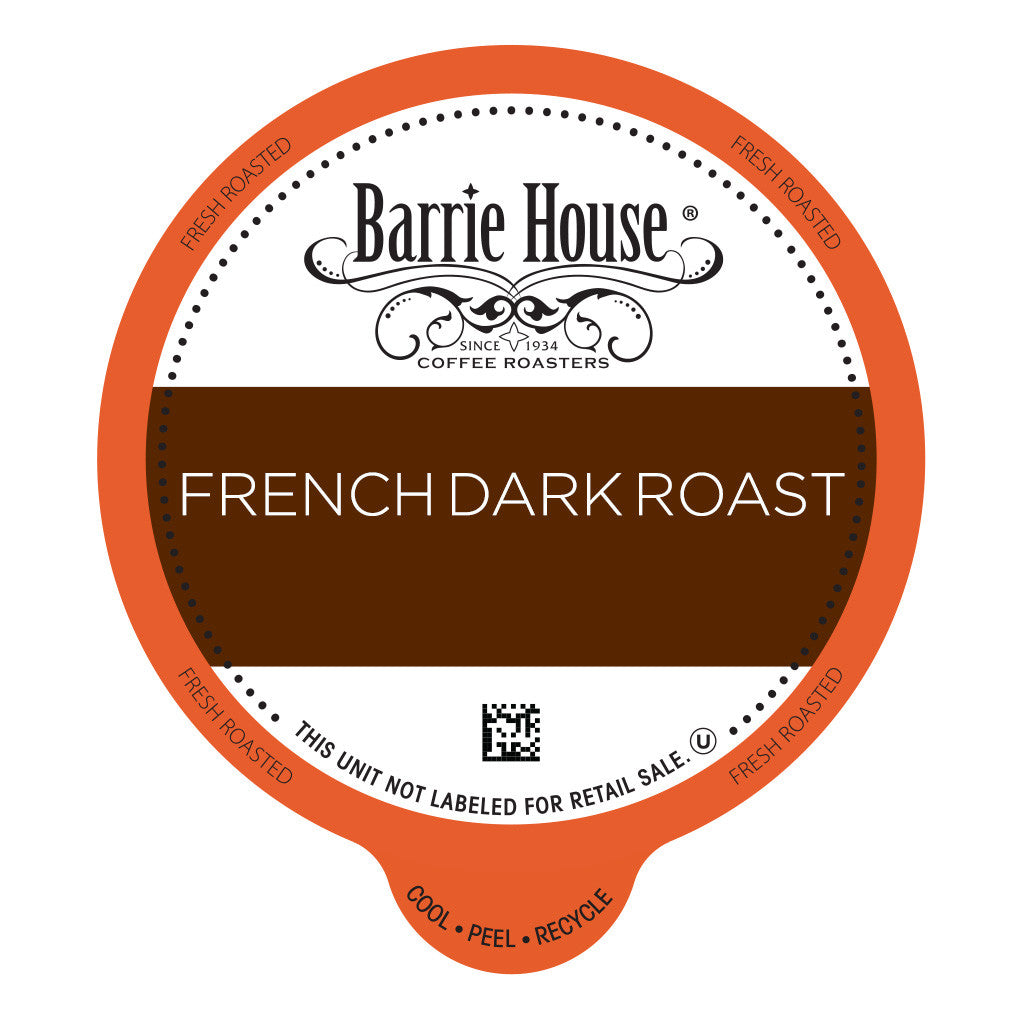 Barrie House French Dark Roast Value Pack Capsules 80 ct k-cups