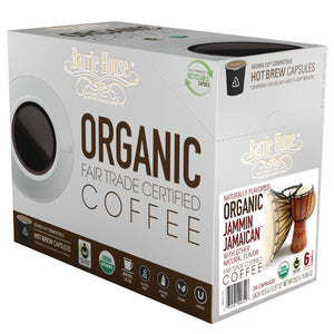 Barrie House Fair Trade Organic Jammin Jamaican Single Serve Capsules 24 ct