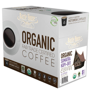 Fair Trade Organic Sumatra Kopi GR-1 Capsules 24 ct k-cups