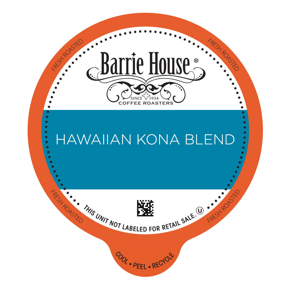 Barrie House Hawaiian Kona Blend Value Pack Capsules 80 ct k-cups