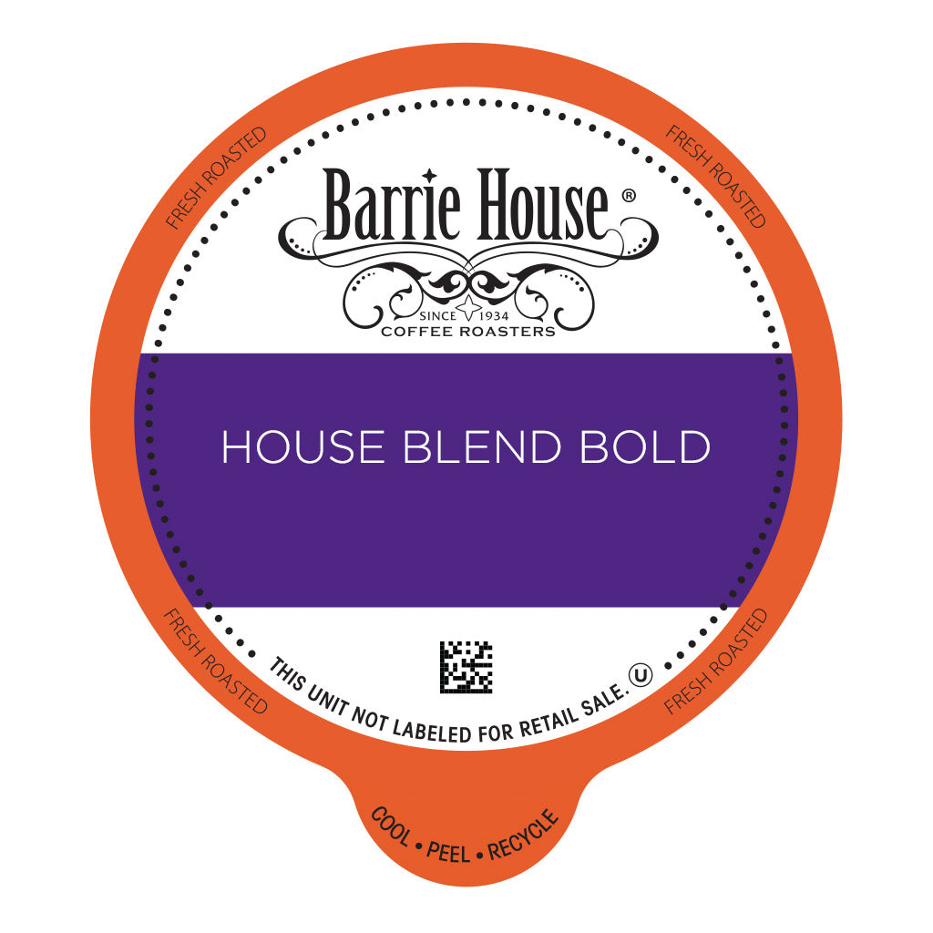 Classic House Blend Bold<br>Barrie House Classic<br>80 ct - Single Serve Capsules