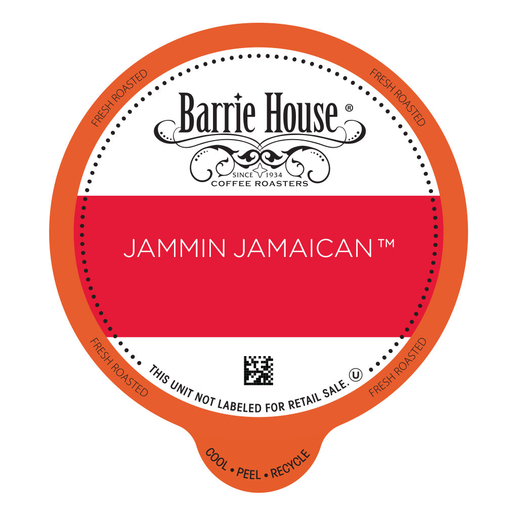Classic Jammin Jamaican <br>Barrie House Classic<br>80 ct - Single Serve Capsules