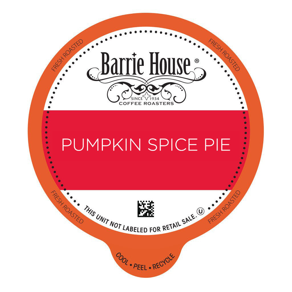 Barrie House Pumpkin Spice Pie Value Pack Capsules 80 ct k-cups