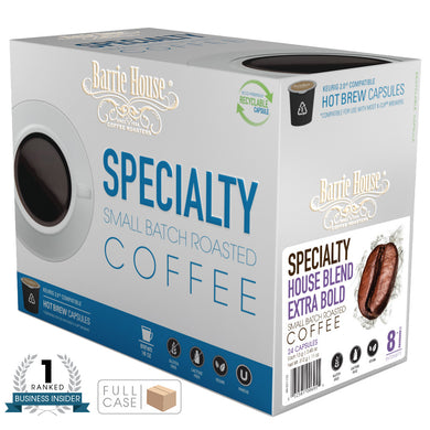 Barrie House Blend Extra Bold Single Serve Capsules 4/24 ct K-cups