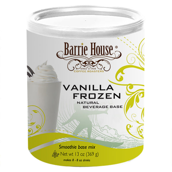Barrie House Natural Vanilla Freeze 6/13 oz can