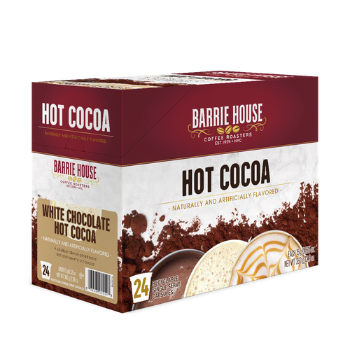 White Chocolate Hot Cocoa<br>Single Serve Capsules<br>24 ct