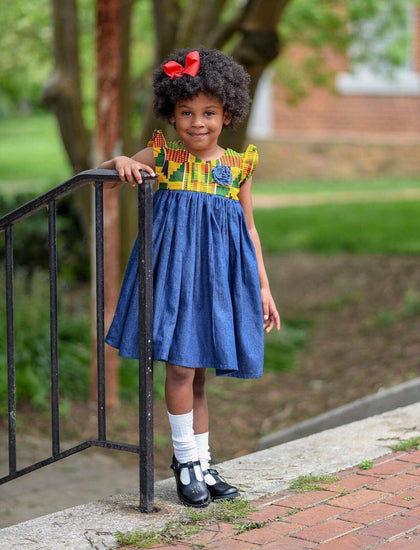 This skirt seen on Kaavia, daughter of Dwayne Wade and Gabrielle Union in her first interview with Oprah