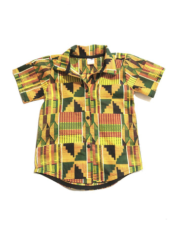 Boys Kente Shirt
