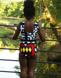 Red African Leotard