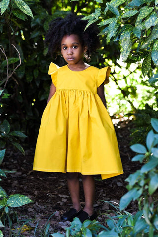 Marigold Magic Mustard Yellow Dress