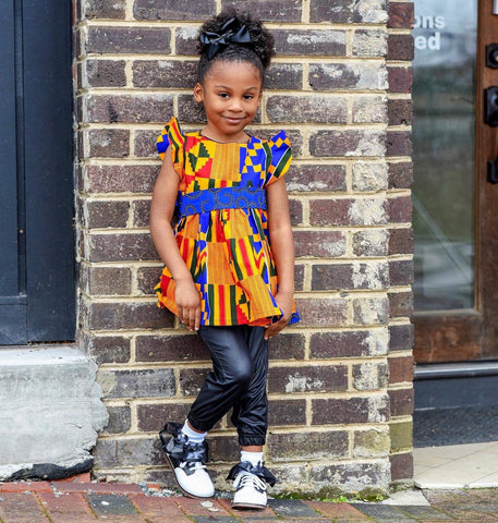 Kente Jazz Dress