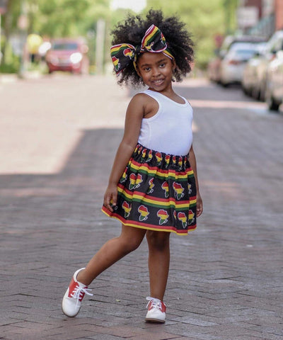 Mother Africa Skirt Set