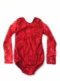 Red Lace Leotard
